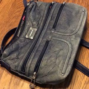 Stone Mountain blue handbag